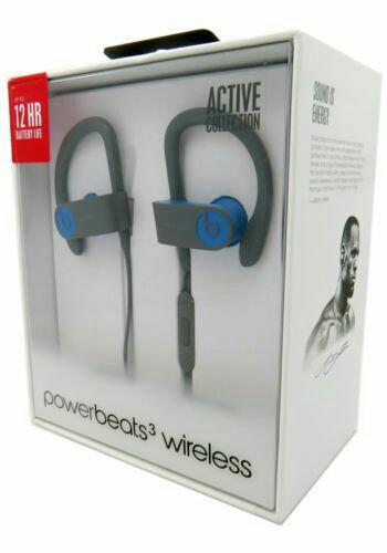 Blue Powerbeats3 by Dr. Dre Headphones
