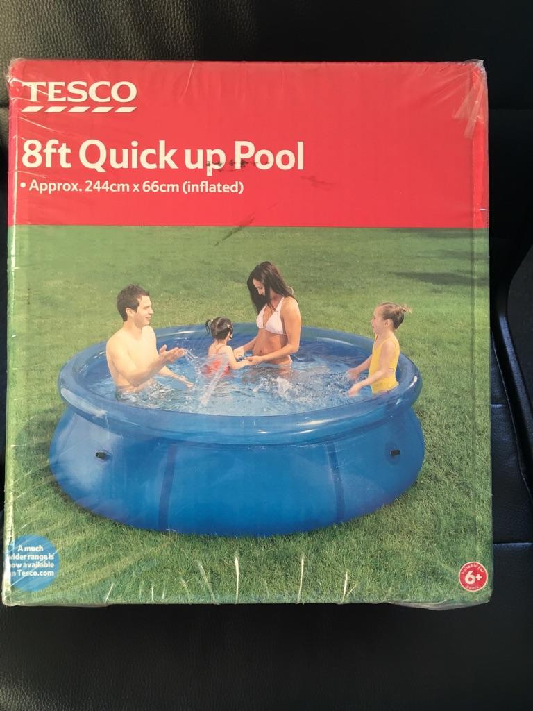 8ft Paddling Pool BNIB