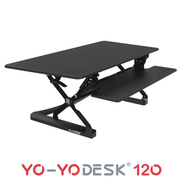 Yo-yo desk 120 convertible sit / standing desk