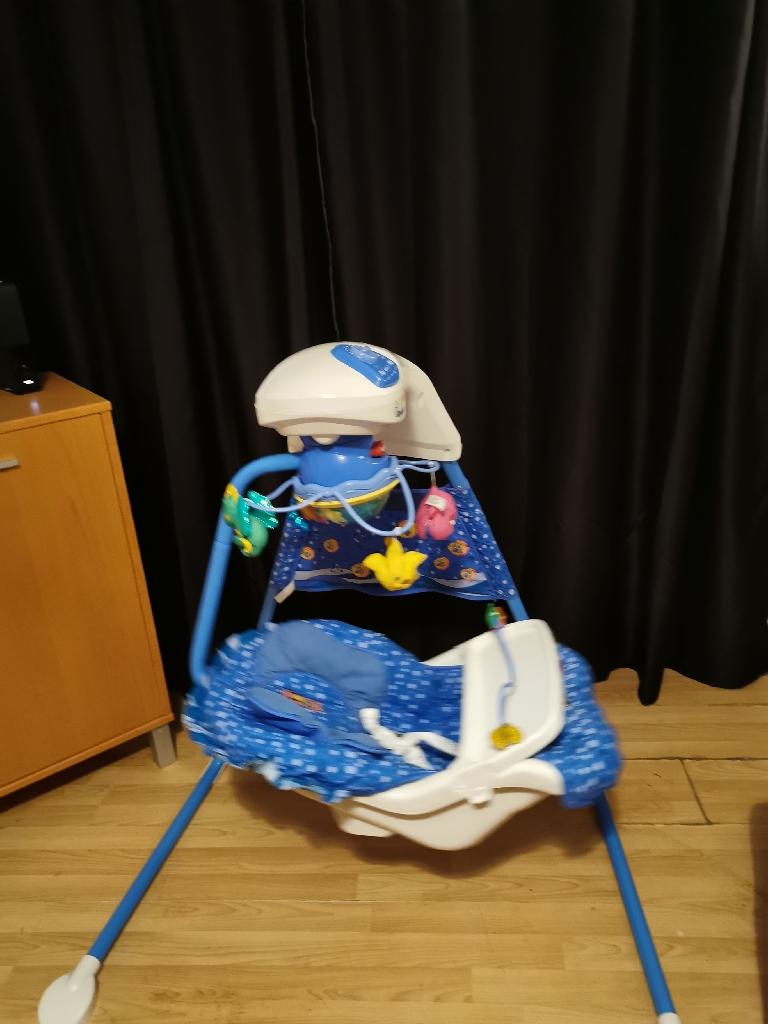 Baby aqua SWING chair