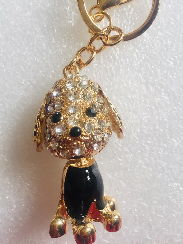 Keys ring holder with dog .