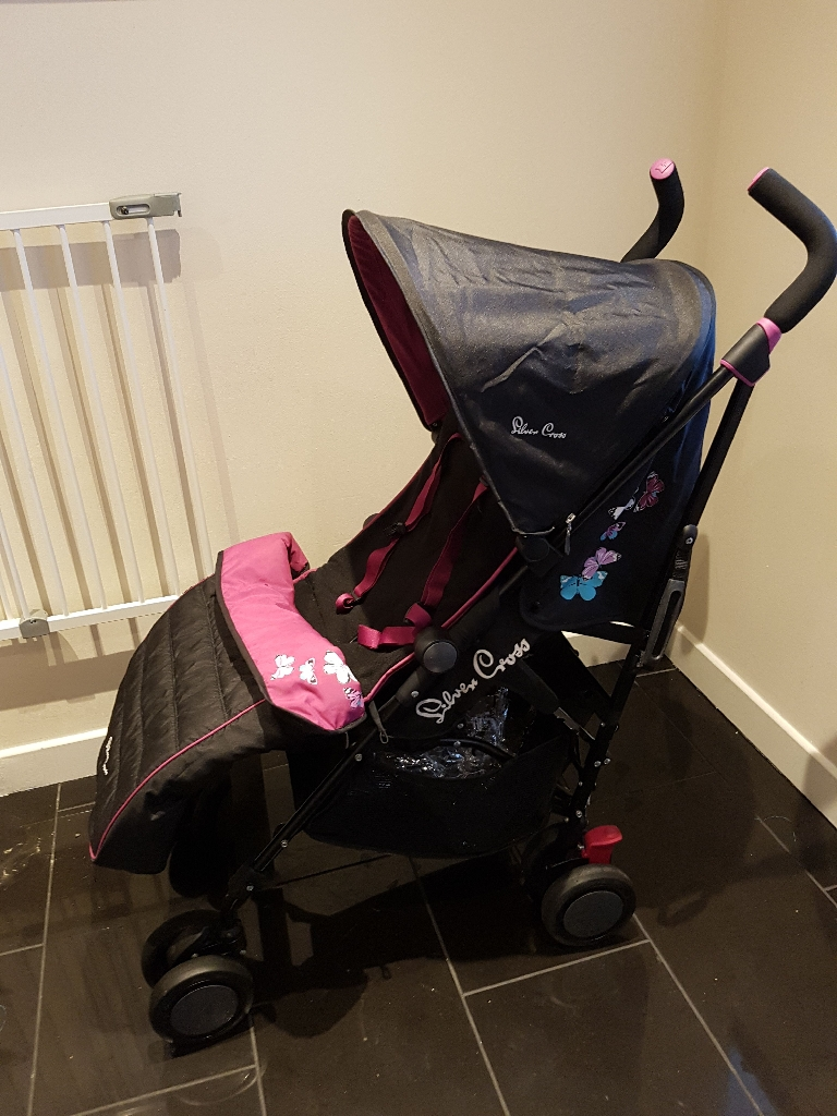 Silvercross Pop Butterfly Stroller / Buggy