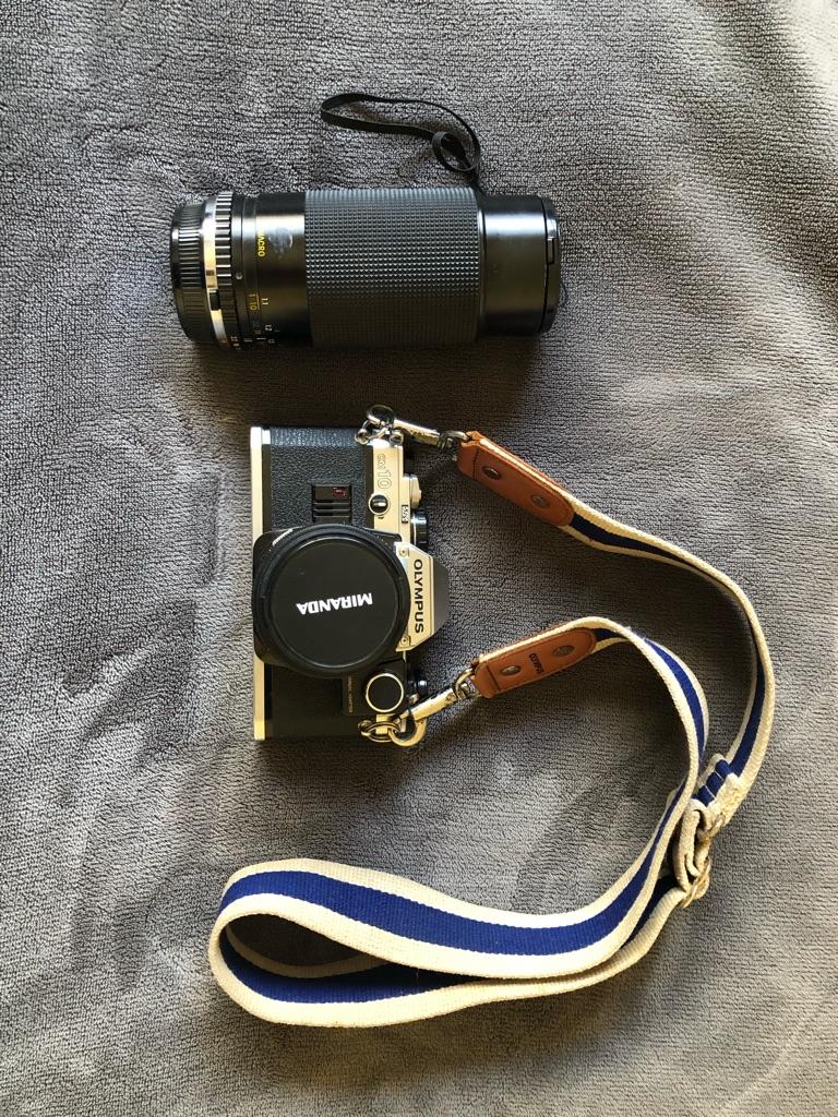 Olympus om10 analogue camera