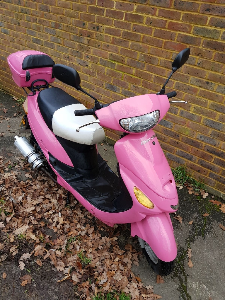 50cc pink scooter