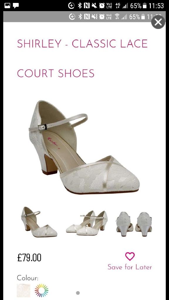 wedding shoes! size 6