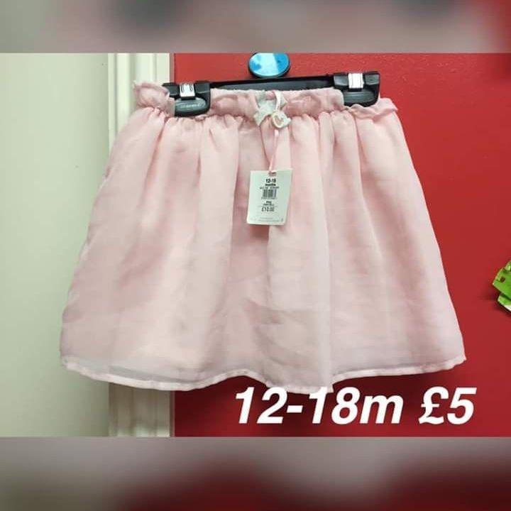 Girls skirt 12-18m