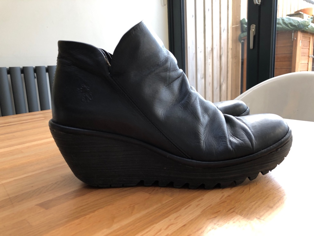 Fly of London Black Ankle Boots