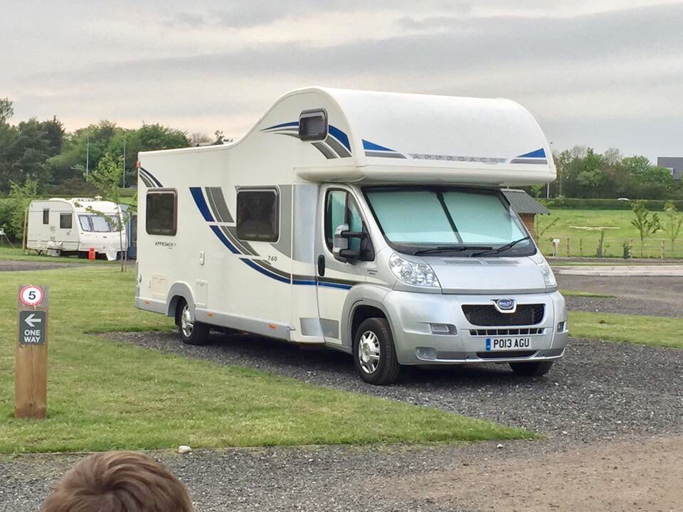Bailey Approach 760SE - 2013 - 7,200miles excellent condition
