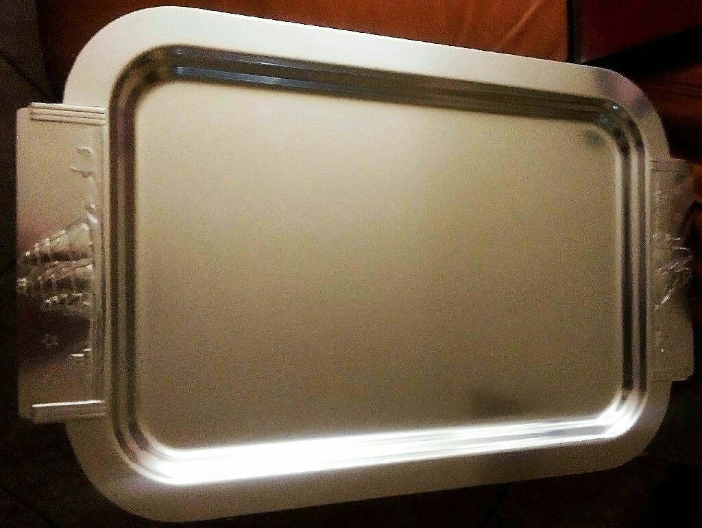 Large Vintage Kensington Aluminum Serving Tray