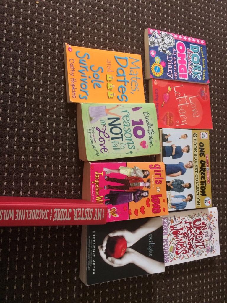 9 books