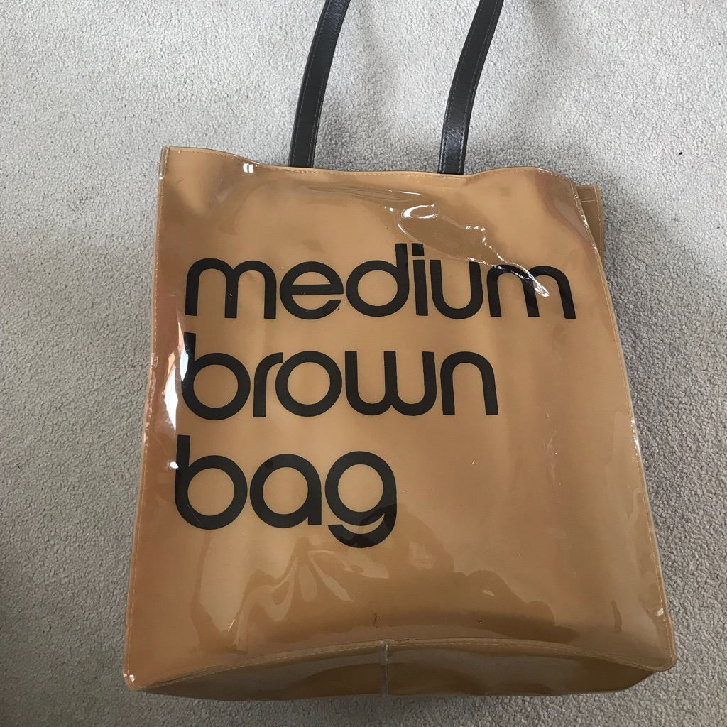 Bloomingdales Medium Brown Bag