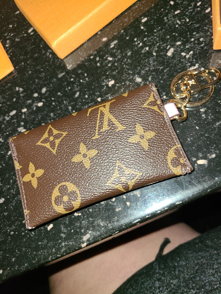 LV Keychain coin purse