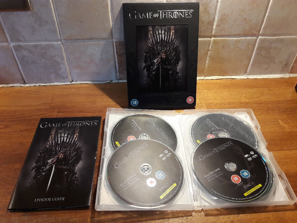 Game Of Thrones DVD Boxset Seasons 1 & 2