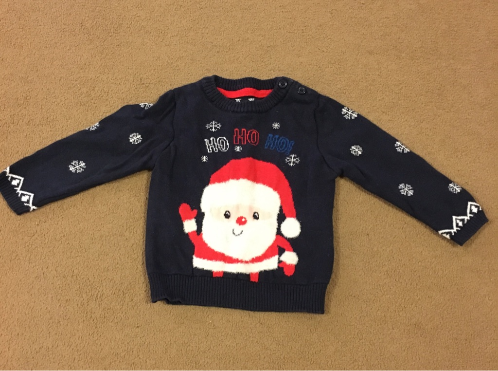 Christmas jumper 9-12 months