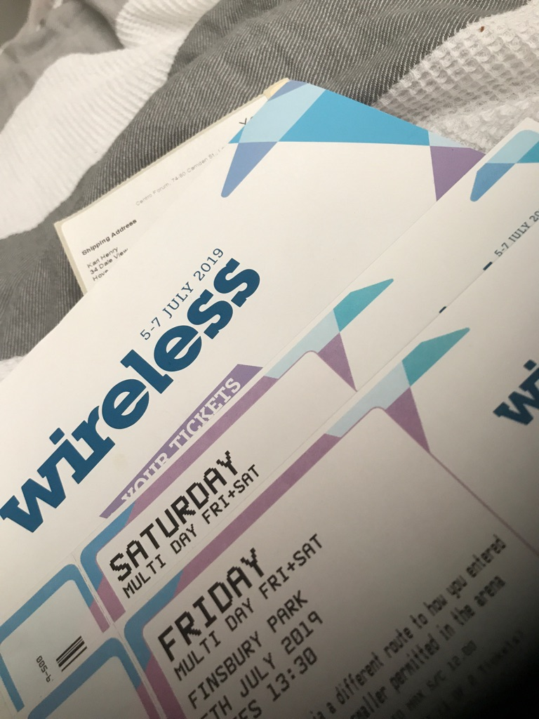 Wireless Festival Tickets - Friday +Saturday