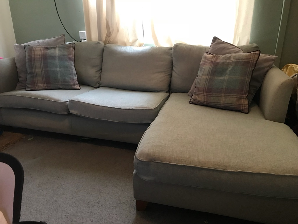 Teal Next 4 Seater Corner Sofa Village