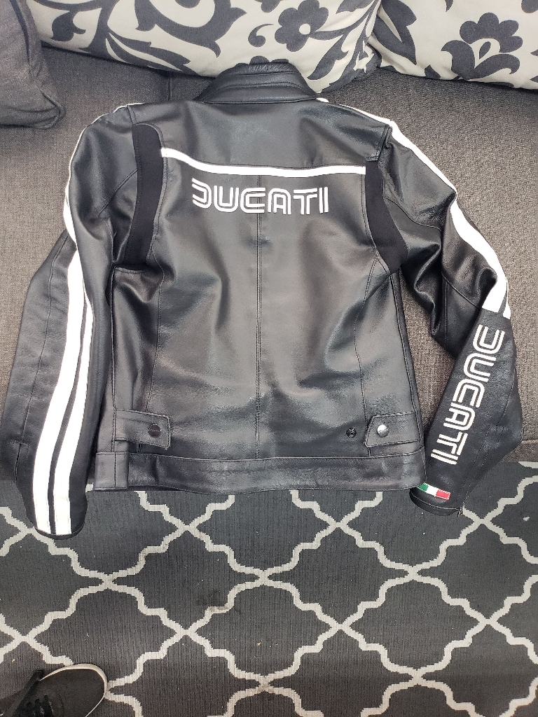 Women S Small 42 Ducati by Dainese Black/White