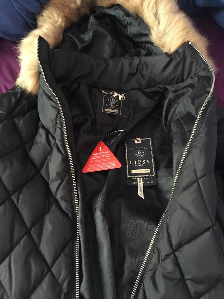 Lipsy coat brand new