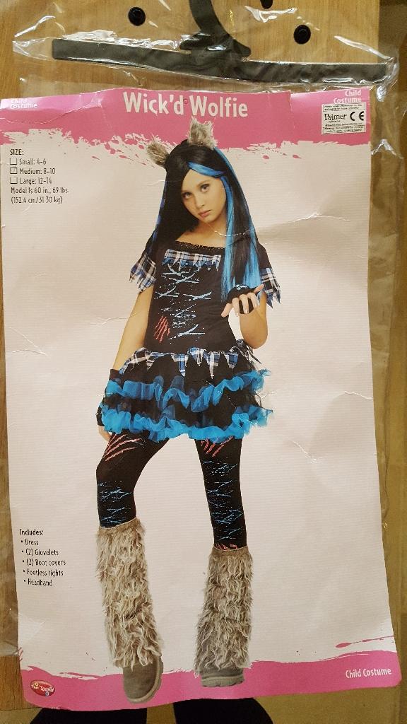 Wick'd Wolfie Halloween Costume