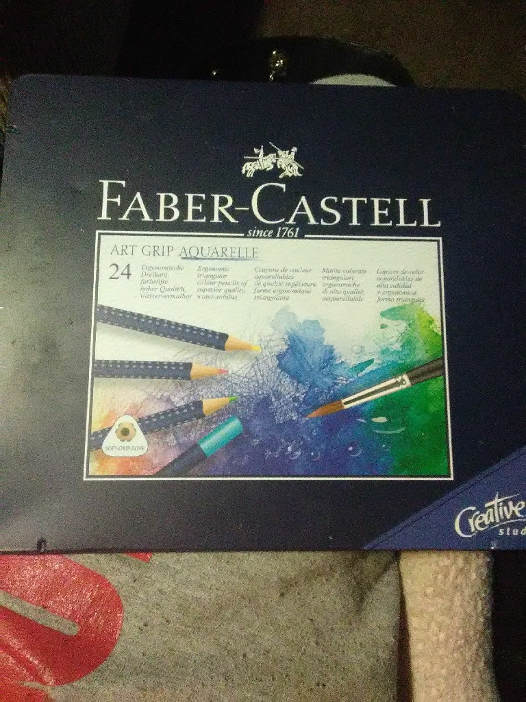 Faber-Castell Art Grip Aquarelle Colored Pencils