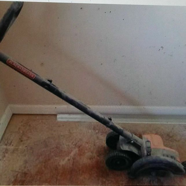 Electric edger/trencher