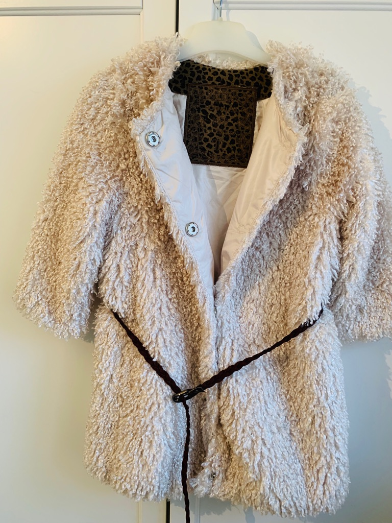 Monnalisa Girl's Designer Coat - Aged 7 years