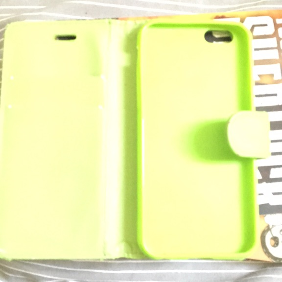 Green iPhone 6/6s case