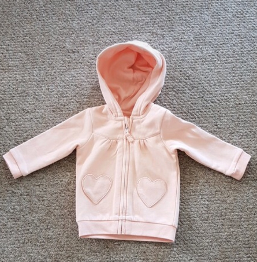 Girls hoodie 3-6 months