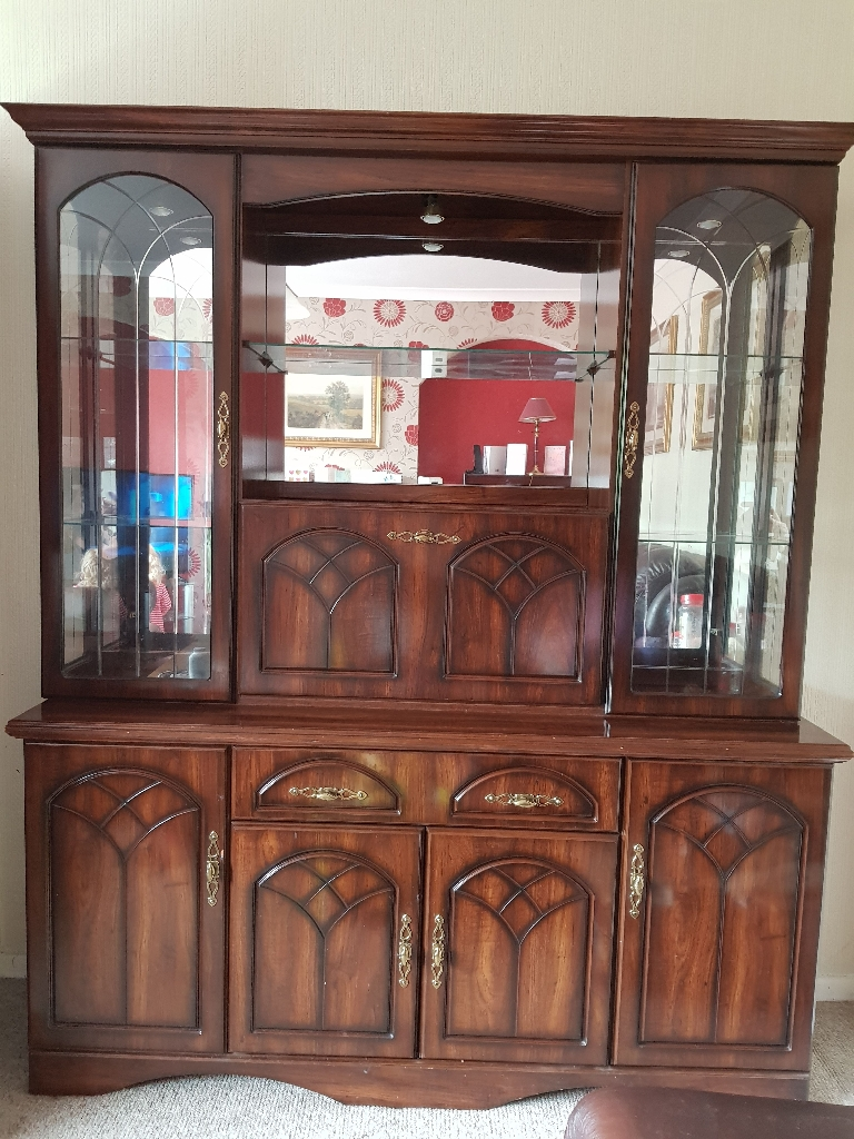 Wall unit / display cabinet/ drinks cabinet