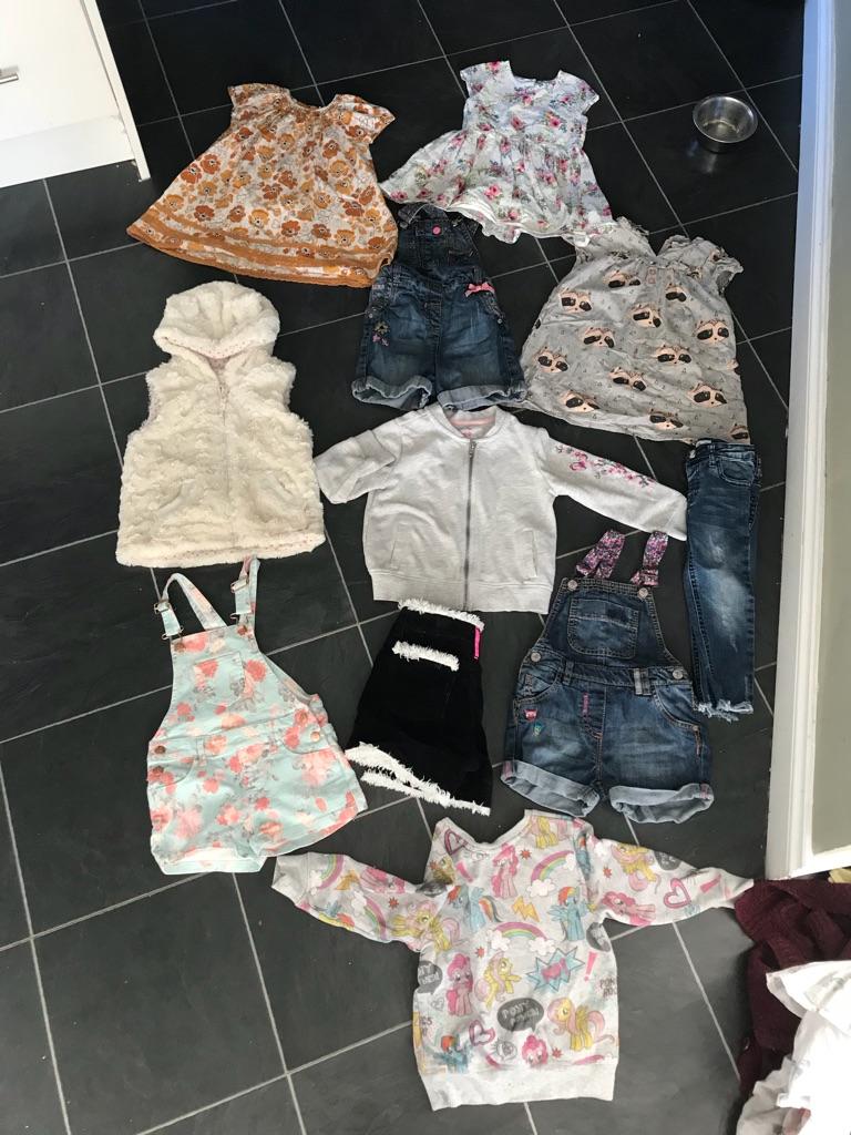 Huge bundle girls 2-3 years