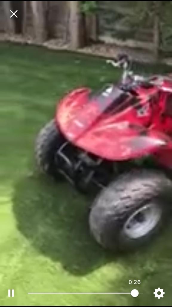 90cc Honda 4 gears clean quad