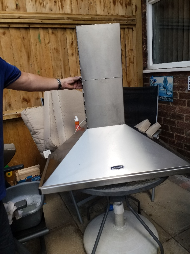 Rangemarster crome (hood) extractor fan