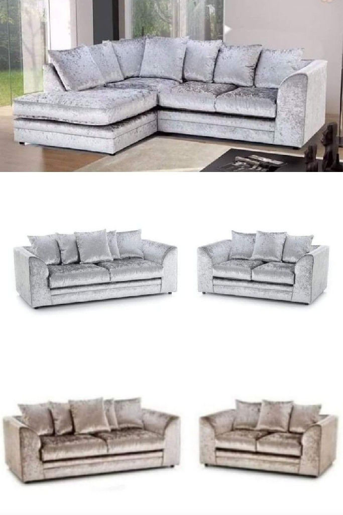 Corner Sofas or 3+2 Sofa Set Available For Sale