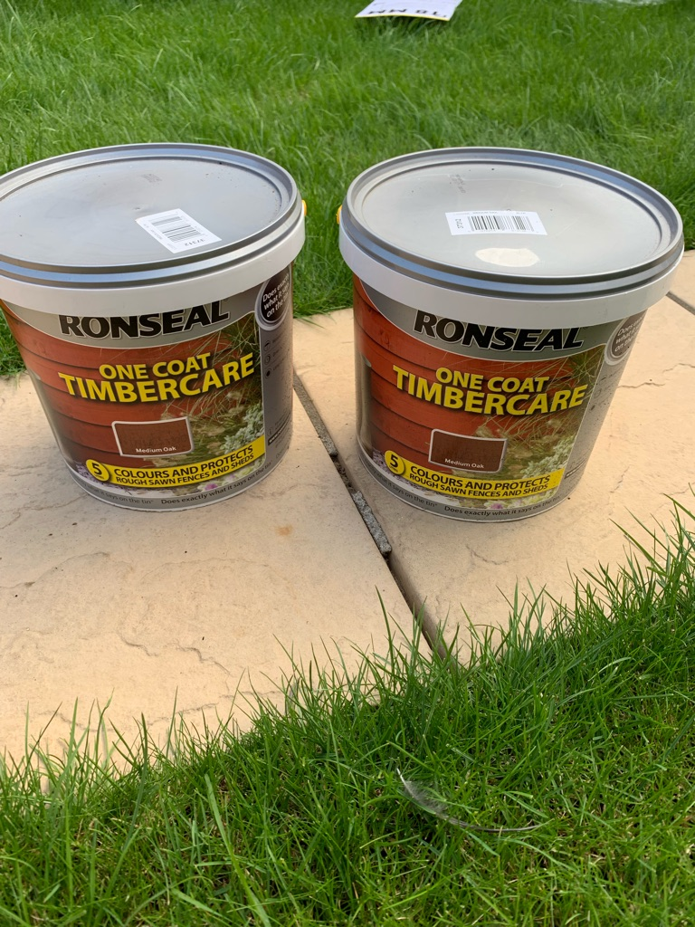 Ronseal one coat timber care