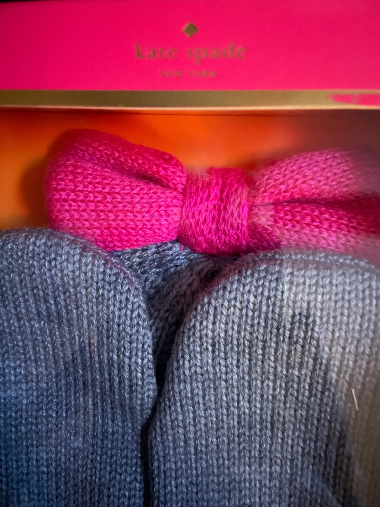 Kate Spade Mittens & Hat