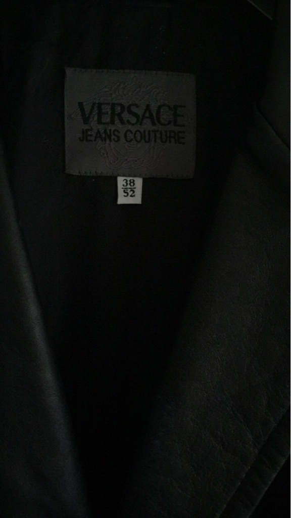 Versace Jeans Couture Leather Coat