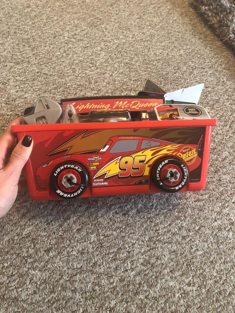 Lightening McQueen tool set