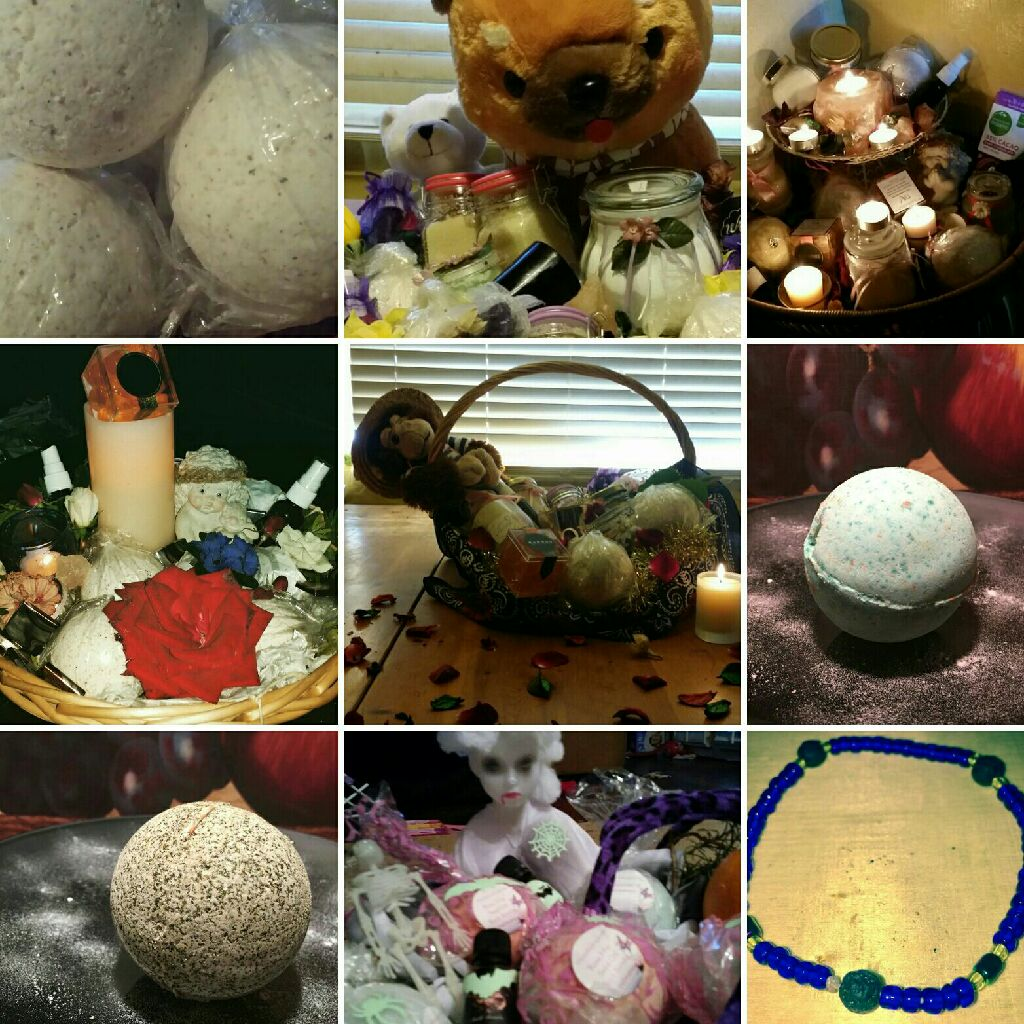 Bath bombs n more