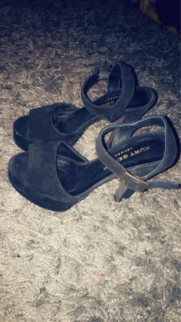 Kurt Geiger London Black Stiletto Heels