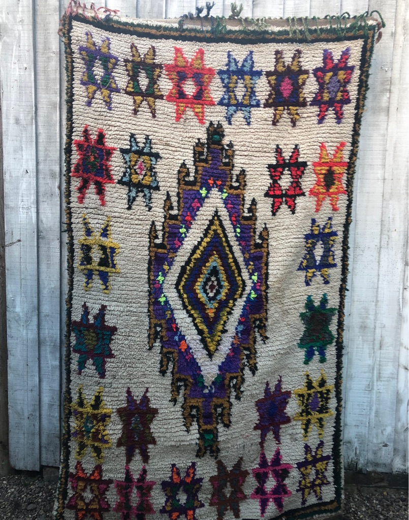 Authentic hand made Moroccan Rug
