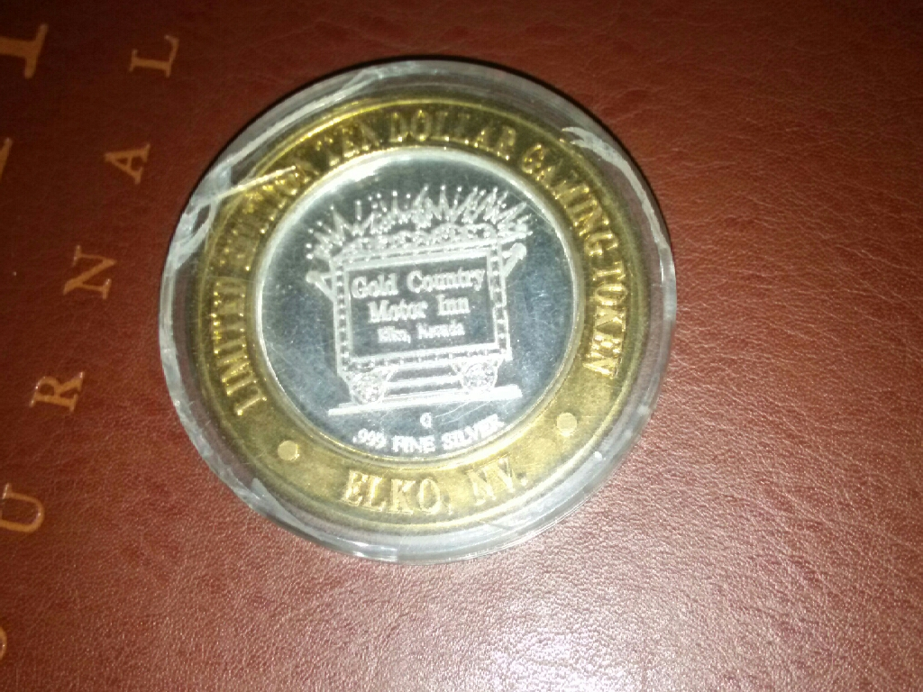 Limited Edition 10 Dollar Gold Token