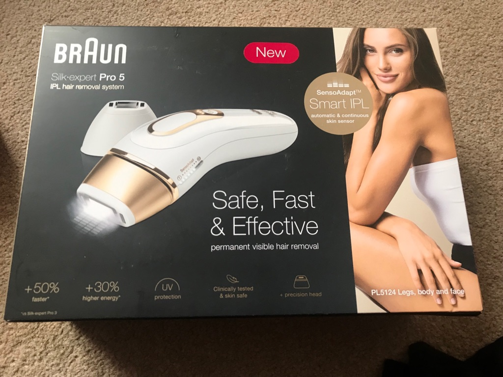 Braun silk expert Pro 5 hair removal system