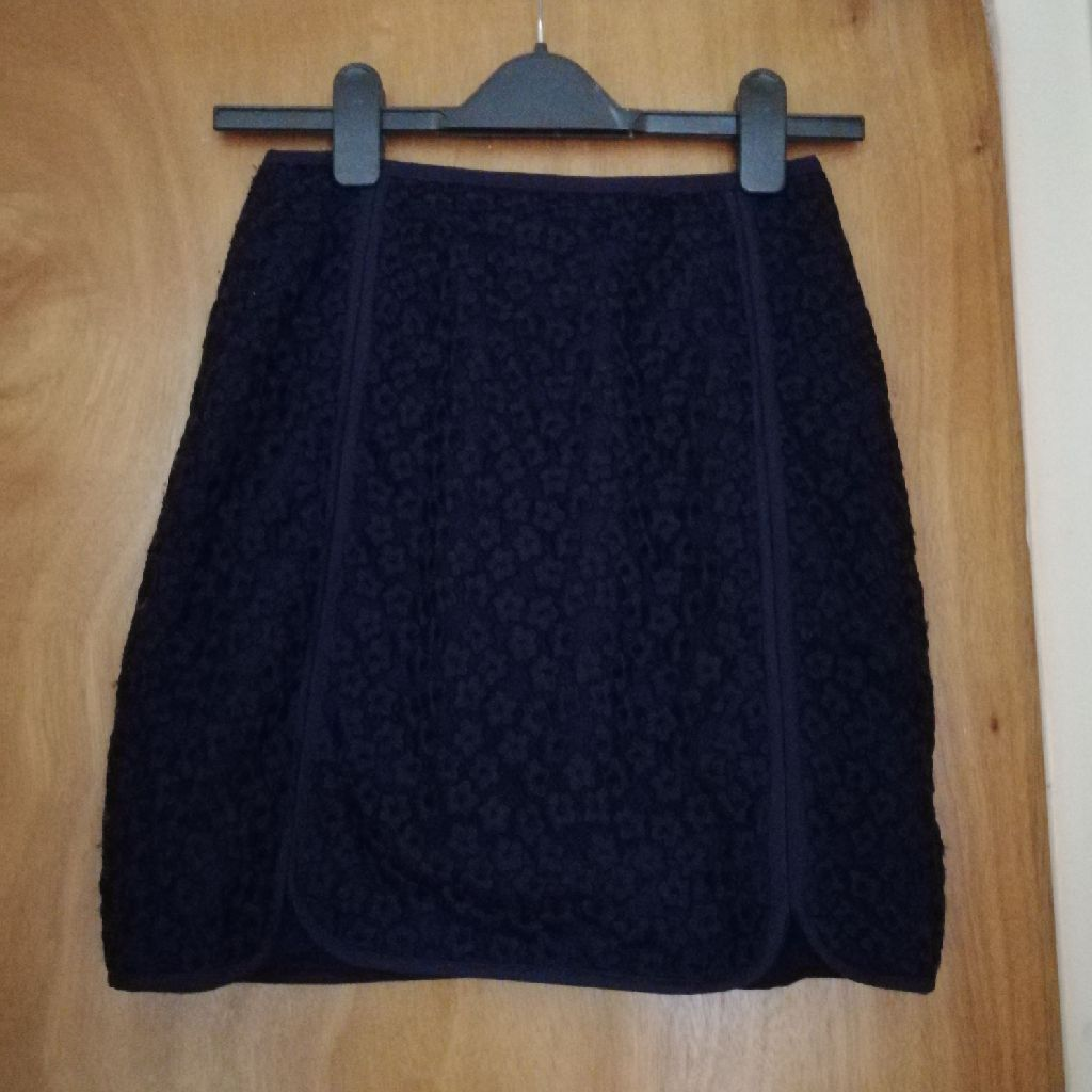 Navy Reiss Skirt size 8
