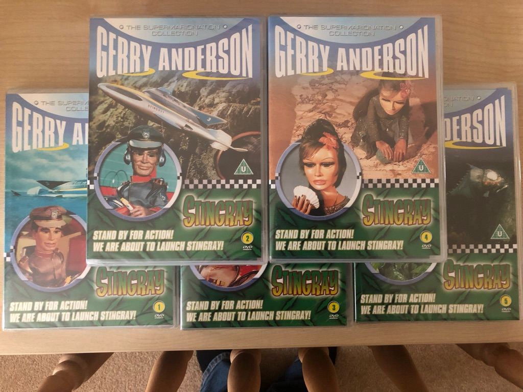 Gerry Anderson DVDs