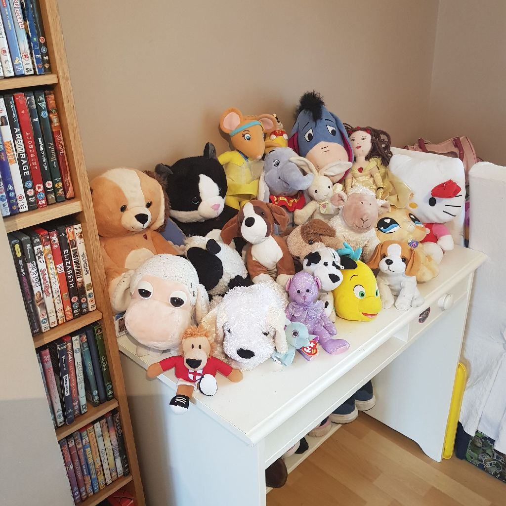 All sorts of teddies