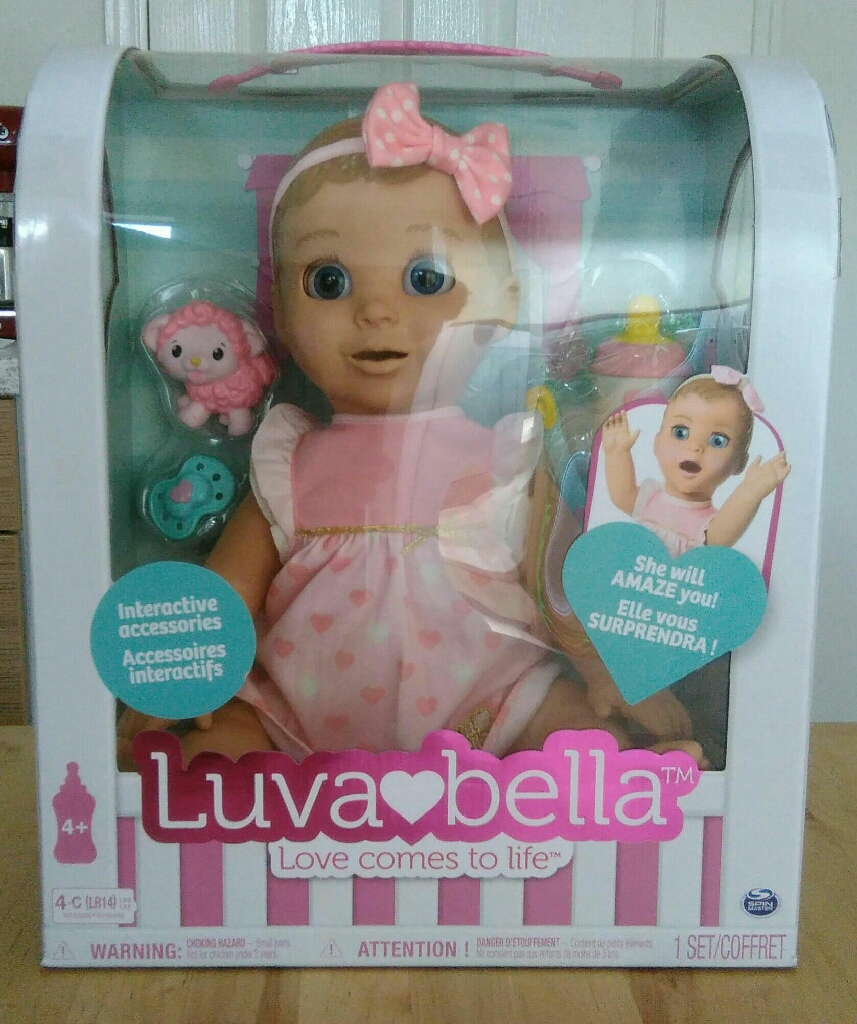 Luvabella Doll *American Imported**Bilingual Model Learns English & French*