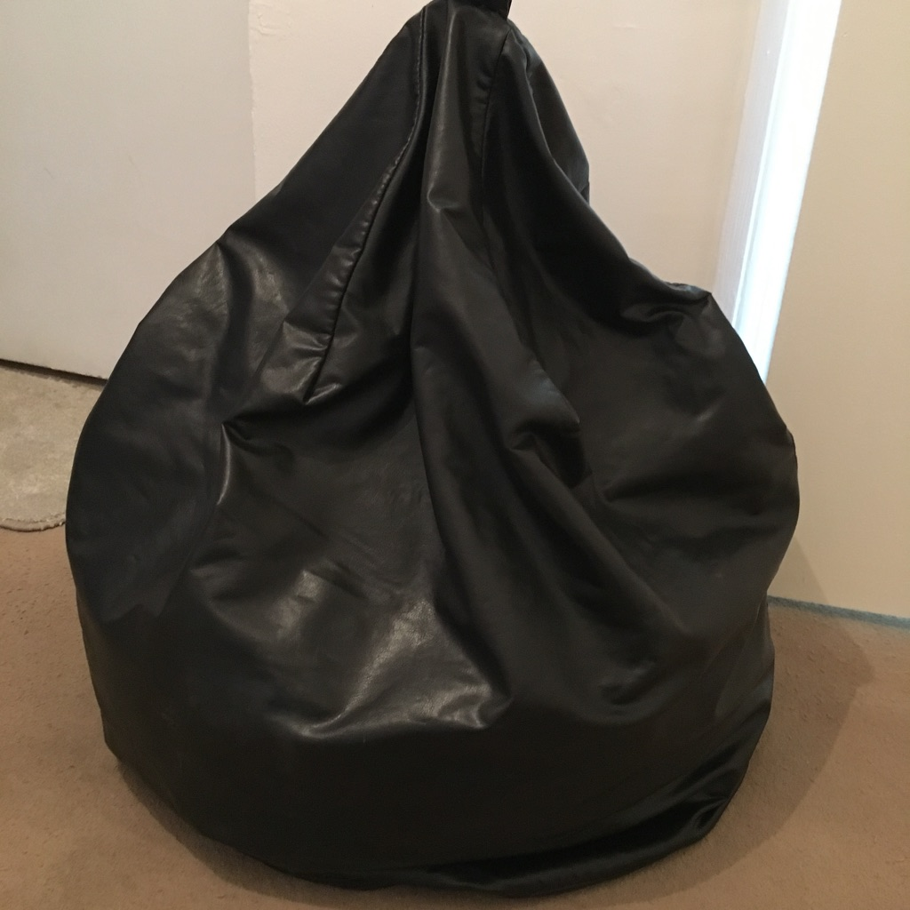 Black been bag
