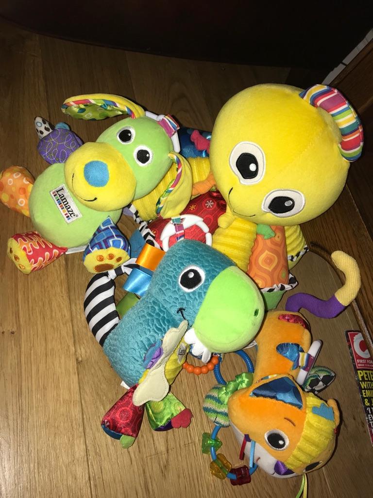 Lamaze Toy Bundle