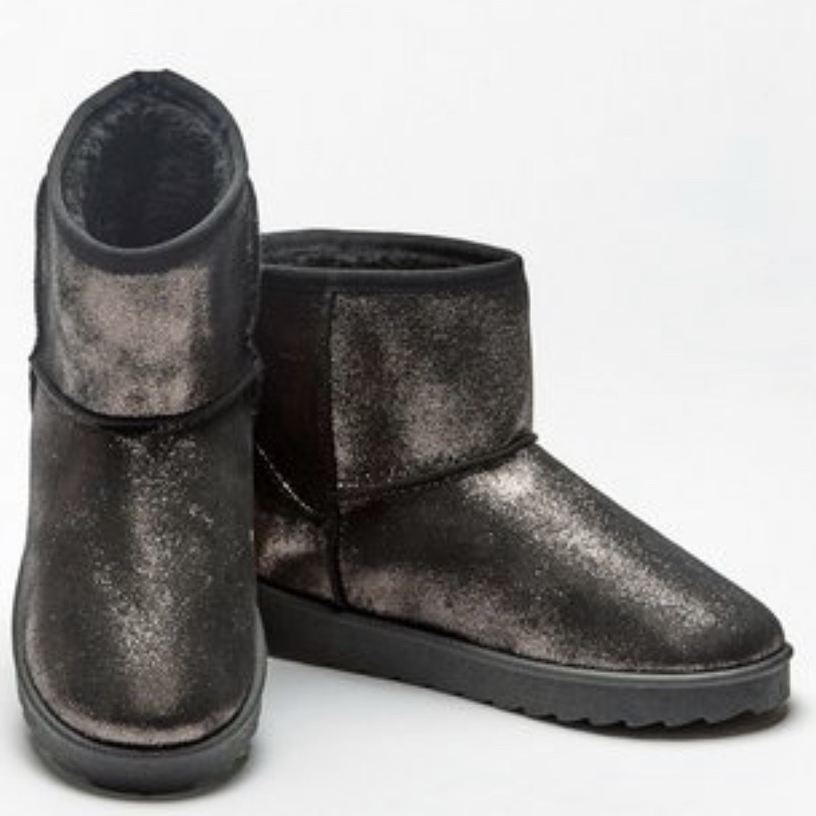 Size 7 metallic boots
