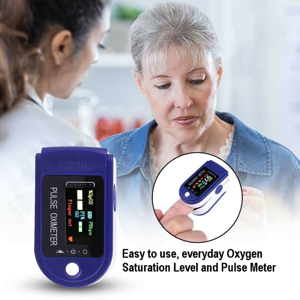 Oximeter Fingertip Blood oxygen heart rate monitor